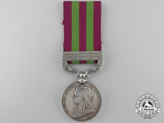 An India Medal 1895-1902 to the 38th (Dogra) Bengal Native Infantry