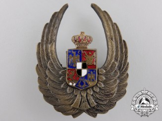 A Second War Romanian Observers badge