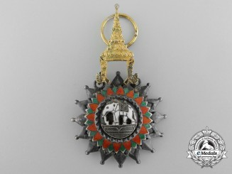 A Thai Most Exalted Order of the White Elephant