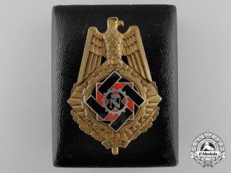 A Technical Emergency Service Honor Badge with Case by Karl Hensler