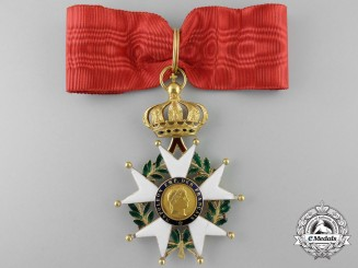 A French Legion D'Honneur in Gold; Second Empire (1852-1870)
