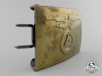 A Rare Flemish Youth Belt Buckle