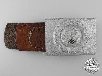 A 1st Pattern Air Raid Protection League Enlisted Man's Belt Buckle by Otto Jahnke