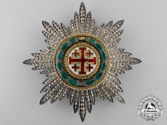 A Order of the Holy Sepulchre of the Vatican; Grand Cross Breast Star