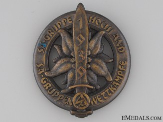 SA Gruppe Hochland Day Badge