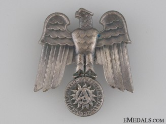 SA Gruppe Hochland 1937 Day Badge