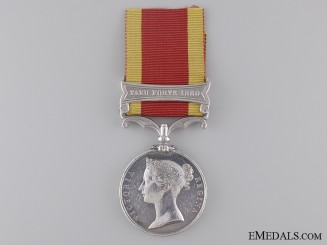 Second China War Medal to the 1st Rifle Regiment
