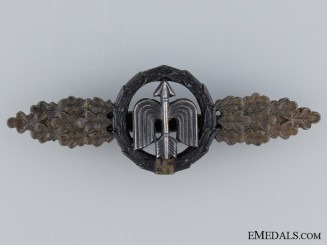 Short Range Night-Fighter Clasp by R.K., Bronze Grade