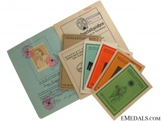 Six ID Booklets to a Female Recipient