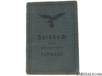 Soldbuch to Paratroop Feldwebel