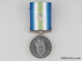 South Atlantic Medal to Marine Graham RM