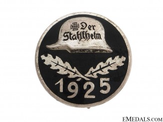 Stahlhelm Membership Badge 1925