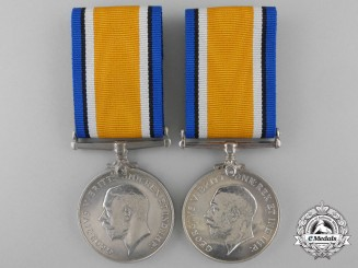 Two British War Medals to the Royal Naval Reserve