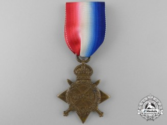 A 1914-15 Star to the Royal Fusiliers