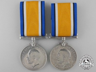Two British War Medals to the Royal Navy