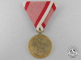 An First War Awarded Golden Bravery Medal 1915-18