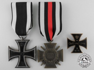 Three First War German Medals and Awards