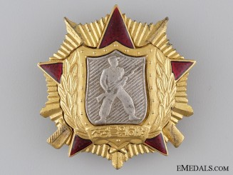 The North Korean Order of Soldiers' Honour; 1st Class