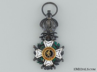 The Order of Leopold; With swords