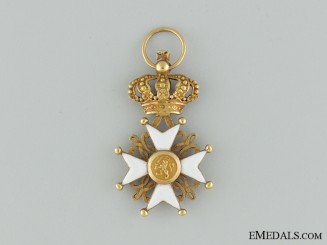 The Order of Netherlands Lion in Gold