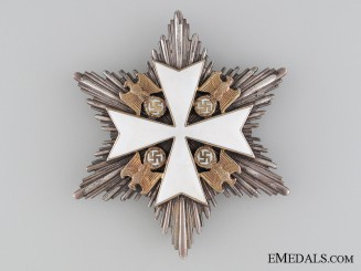 An Order of the German Eagle Second Class Star by Godet