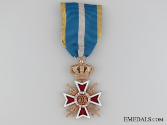 The Order of the Crown of Romania with Swords;