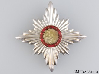 The Order of the British Empire; K.C. Breast Star