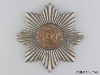 The Order of the Afghan Throne; Fourth Class Star