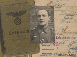 The Soldbuch of Karl Böhmer; 33rd Tank Destroyer Battalion