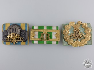 Three German Imperial long Service Awards