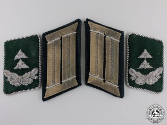 Two Pairs of German Army & Luftwaffe Collar Tabs