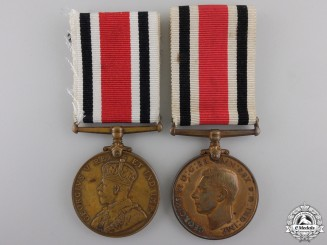 Two Special Constabulary Long Service Medals