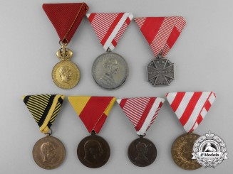 Seven Austrian Medals and Awards