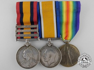 A South Africa Campaign & First War Group to the Canadian Mounted Rifles