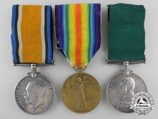 A First War First War & Colonial Long Service Grouping to the 2nd C.M.R.