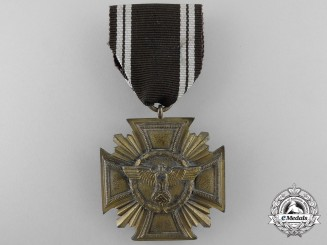 An NSDAP Long Service Award for 10 Years' Service
