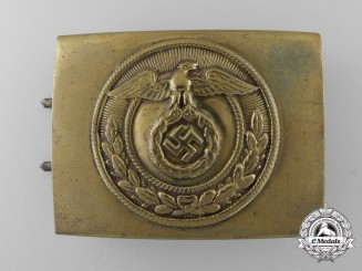 An SA  Enlisted Man's Belt Buckle; Published Example