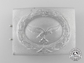 An 1938 Pattern Luftwaffe Enlisted Man's/NCO's Belt Buckle; Published Example