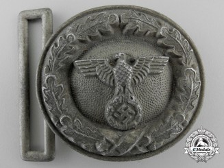 A German National Forestry Official's Belt Buckle