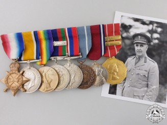 A First & Second War Medal Group to Brigadier Arthur V. Tremaine, C.B.E., C.D.