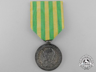 A French Tonkin Campaign Medal for Marine Units