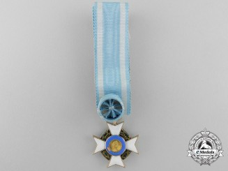 A Fine Miniature Royal Order of the Redeemer c.1860-1870 in Gold