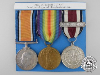 A First War Corps of Commissionaires Group to Private Dennis Haight