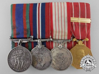 A Canadian Medal Group to Pilot Officer 2nd Class L.B. Goodwin RCAF