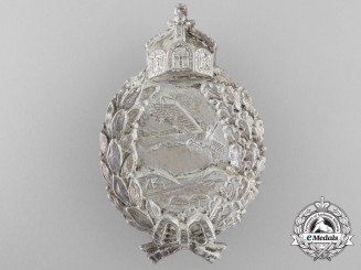 A First War Prussian Pilot's Badge in Silver