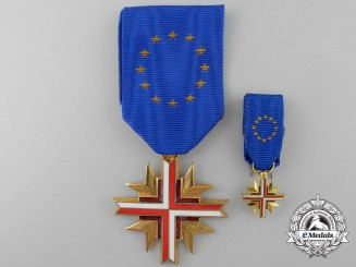 A French Cross of the European Confederation of Former Combatants