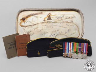 A Second War Canadian Grouping to Lieutenant-Colonel William Gordon Chandler