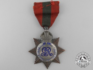 A George V Imperial Service Medal
