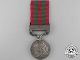 An India Medal 1895-1902 to the 4th Dragoons Guards