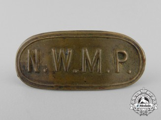 An Early North West Mounted Police Badge c.1880